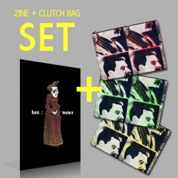 KOU - CLUTCH BAG & ZINE SET