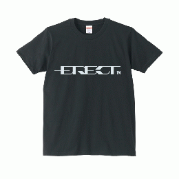 ERECT LOGO Official T-shirt (Black/White)