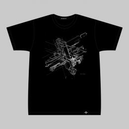 BORIS TELLEGEN T-shirt  (Black/White)